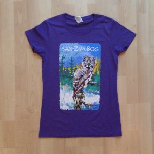 Merchandise—t-shirt Silent Dusk womens purple IMG_1871