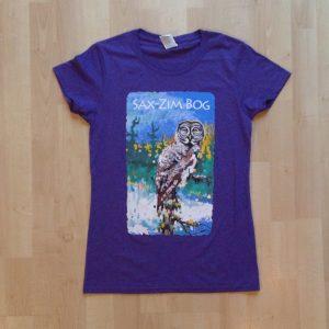 Merchandise—t-shirt Silent Dusk womens purple IMG_1871
