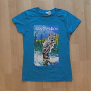 Merchandise—t-shirt Silent Dusk womens teal IMG_1870