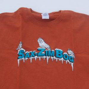 merchandise FOSZB burnt orange t shirt IMG_2846