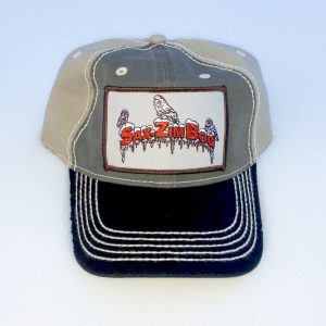 merchandise-hat cap Owls Icicles blk tan front view IMG_5420