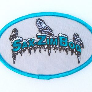 merchandise-patch oval blue icicles & owls IMG_5424